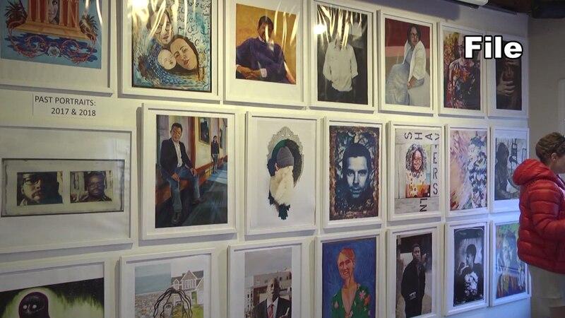 FILE - The Bridge Progressive Arts Initiative art gallery.
