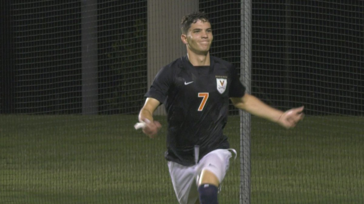 Leo Afonso scored two goals for Virginia.