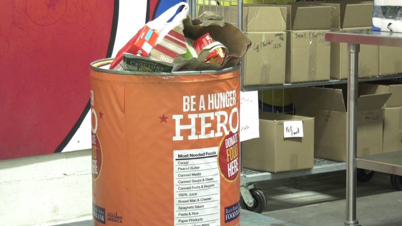 Donations for the Blue Ridge Area Food Bank