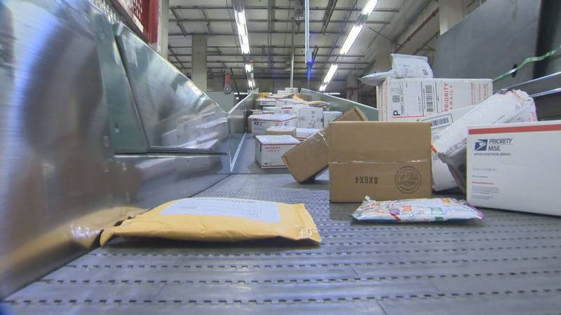 Packages on line