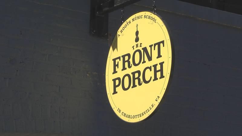 The Front Porch in Charlottesville Va.