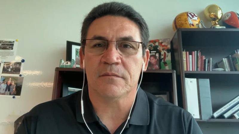 """Changing D.C. football team name """"harder than we anticipated,"""" head coach Ron Rivera says"""
