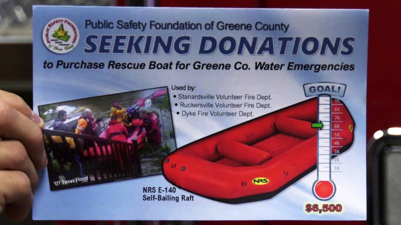 Public Safety Foundation of Greene County seeks donations to purchase NRS E-140 Self-Bailing...