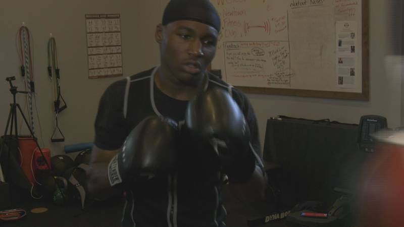Charlottesville Boxer training for national tournaments