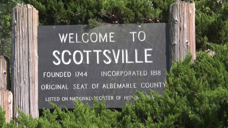 Sign for Scottsville (FILE)