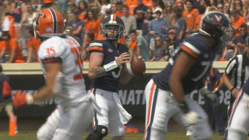 Brennan Armstrong had a career-best performance in the win against Illinois.