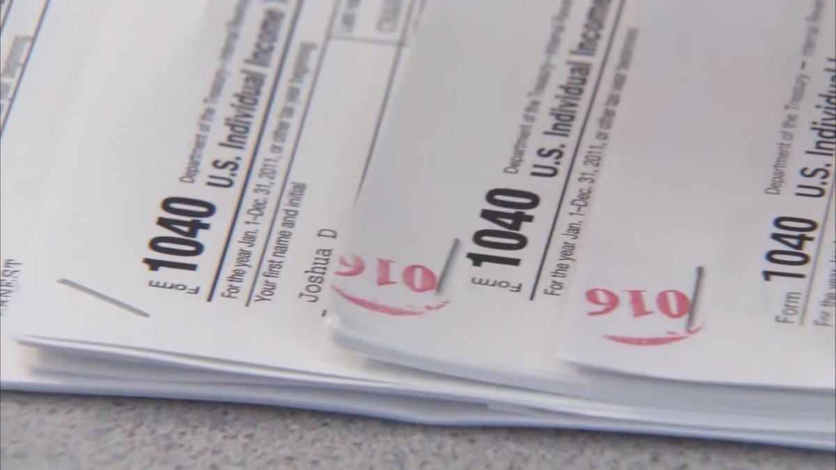 FILE — Tax season nears as 2019 comes to a close.
