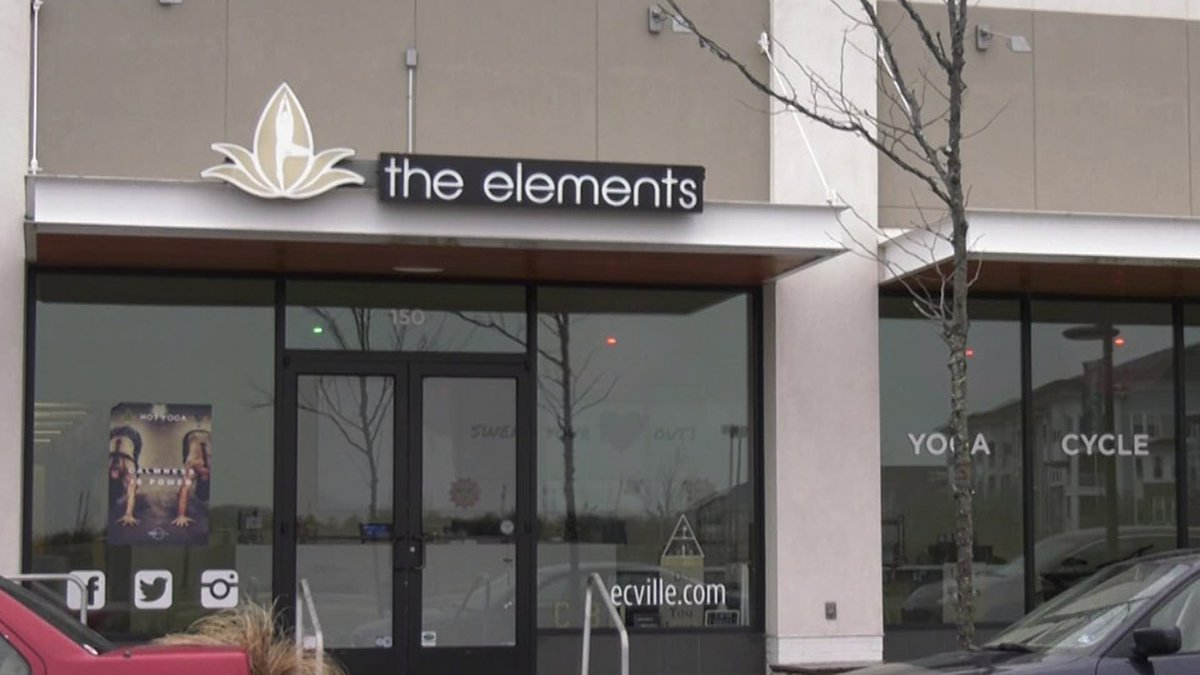 Elements Yoga Studio in Albemarle County (FILE)