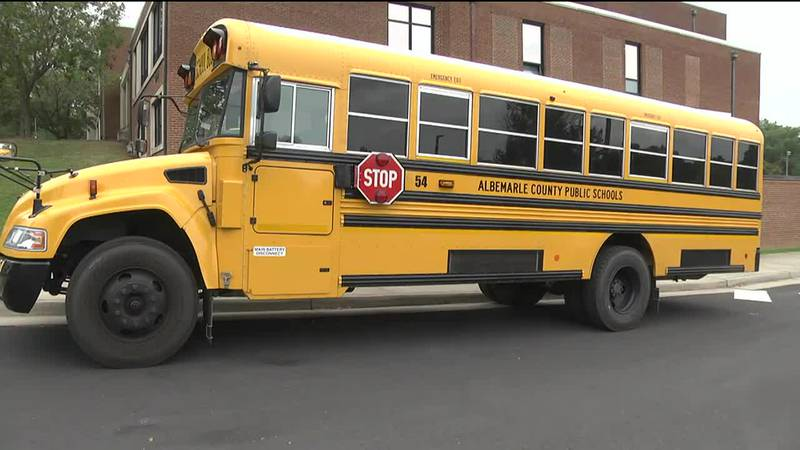 Albemarle County Public School bus