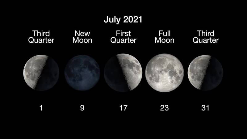 The full buck moon peaks on July 23.