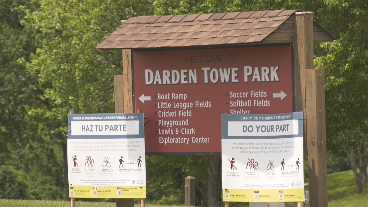 The market is moving to Darden Towe Park