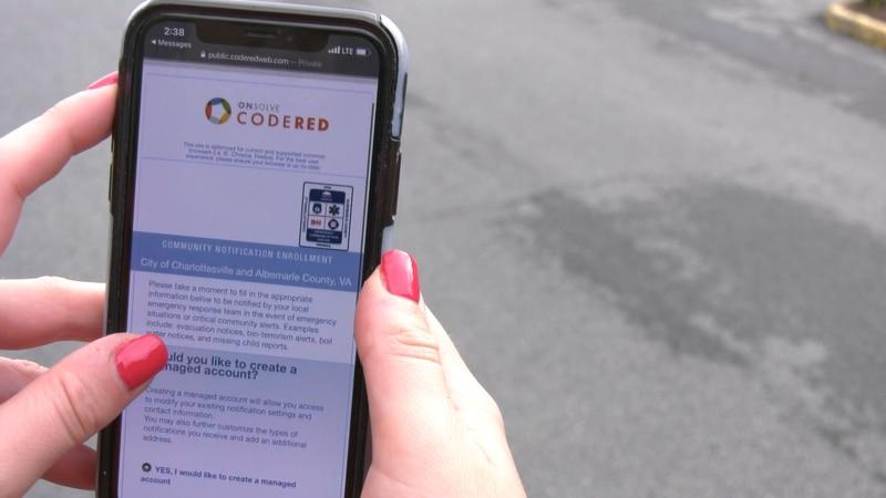 CodeRED website