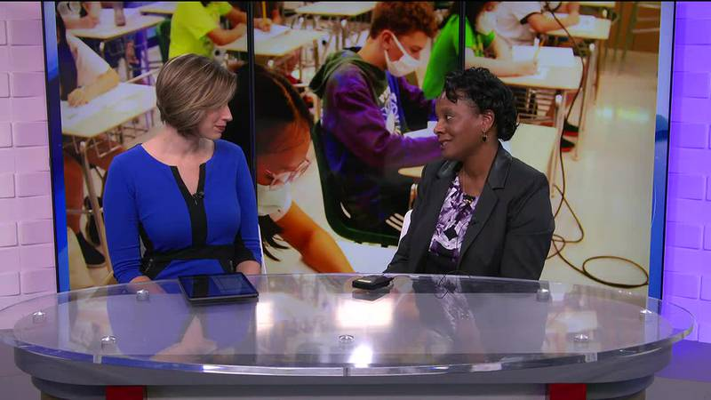 Kasey Hott talks with Dr. Daphne Keiser, the director of educator quality for Albemarle County...