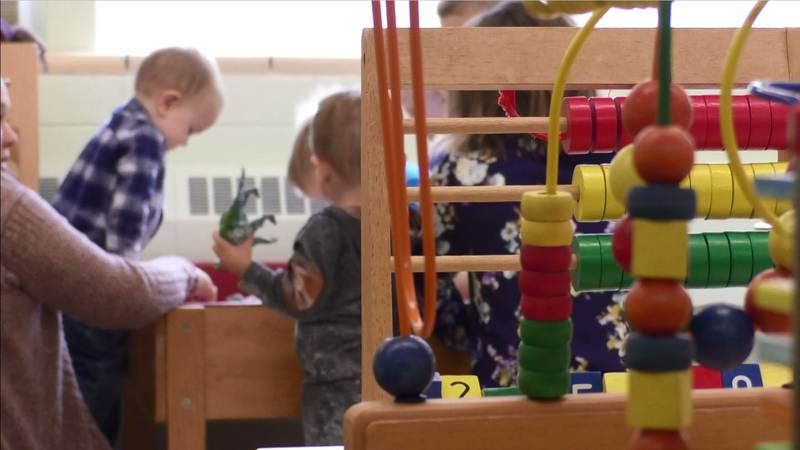 The Eagles Nest Day Care Center in Mapleton reopened in September after community groups and...