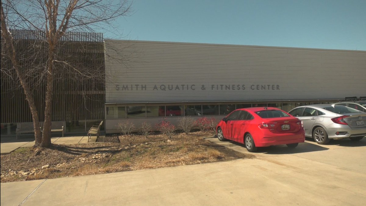 The Smith Aquatic and Fitness Center in Charlottesville