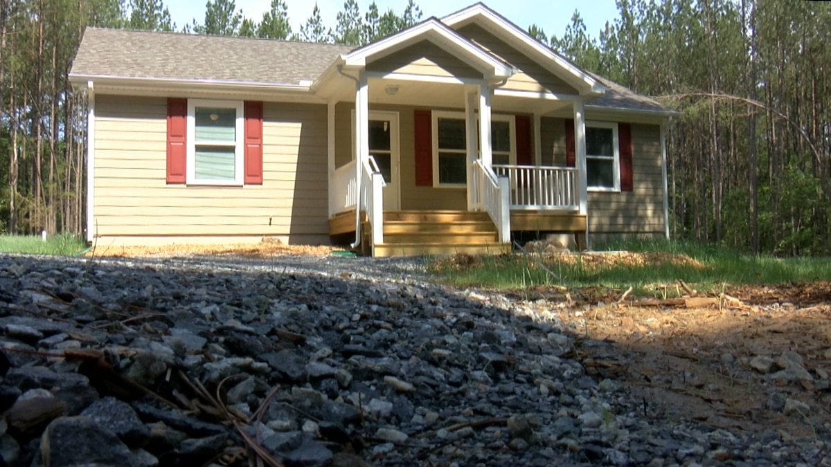 Students from Louisa County High School helped build a home for a family who needs affordable...