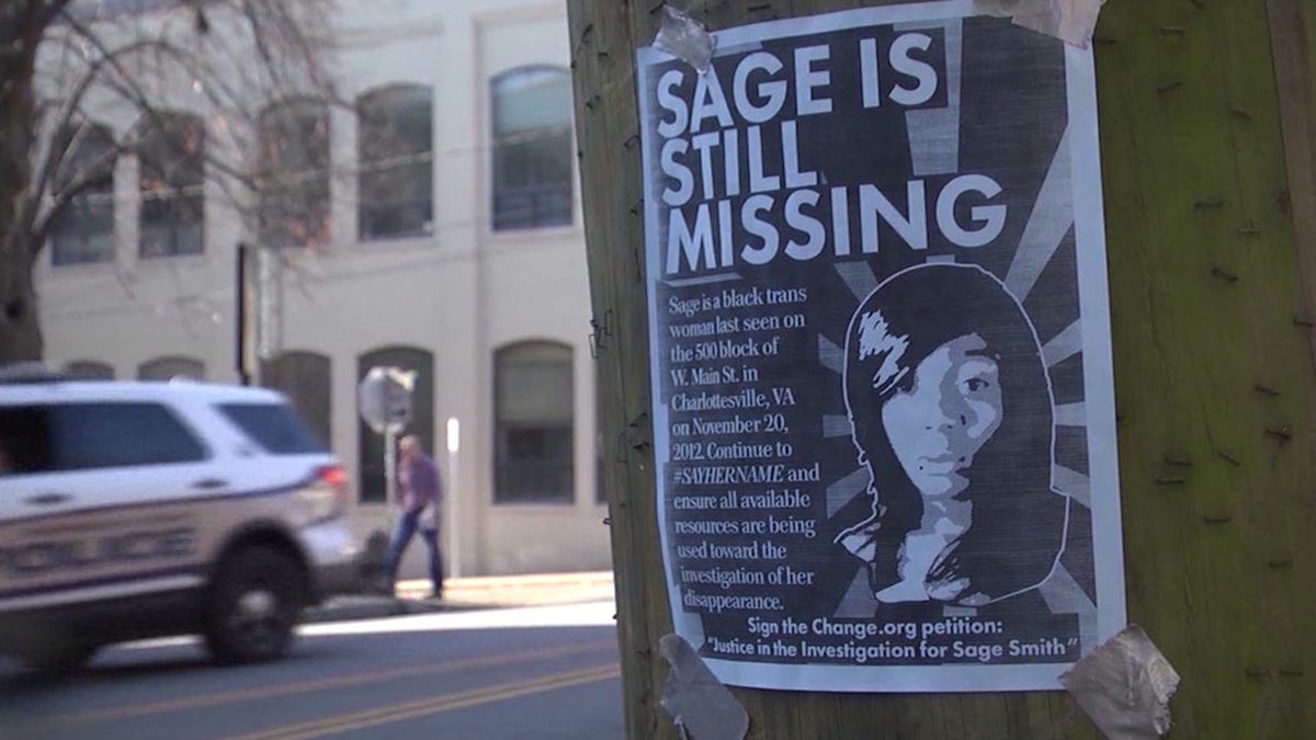 Flyer for Sage Smith in Charlottesville (FILE)