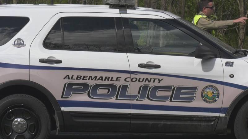 Albemarle County police car.