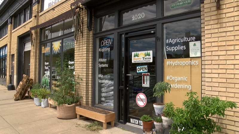 Happy Seeds Agricultural Supply is seeing a boost in sales after lawmakers make marijuana legal...