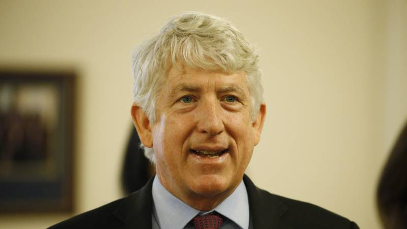Virginia Attorney General Mark Herring speaks during a news conference at the Capitol, Monday...