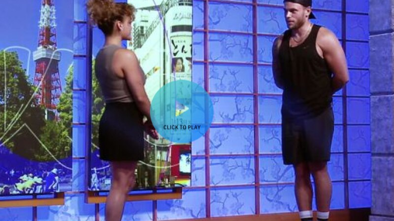 Olympic Zone: Gus Kenworthy and Laurie Hernandez bond over balance beam