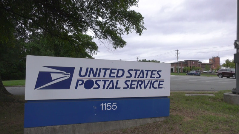 Post office in Albemarle County