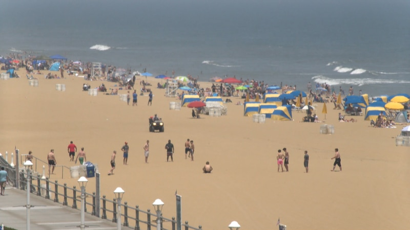 Thousands of people headed to Virginia Beach to kick off the unofficial start of summer as...