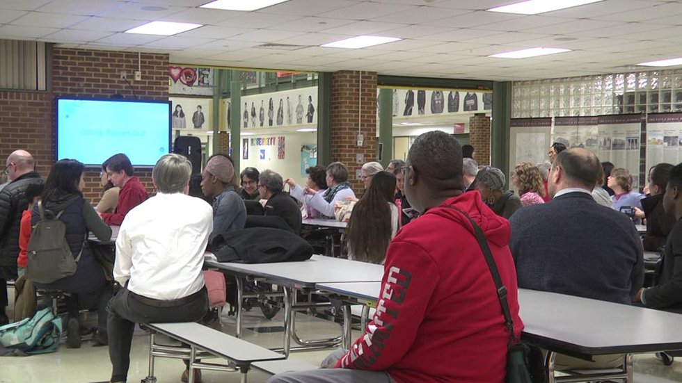 Charlottesville City Schools holding a community conversation on equity.