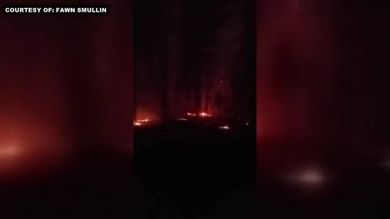 More than 100 homes destroyed by Bootleg Fire in Oregon. (Source: KDRV via CNN Newsource)