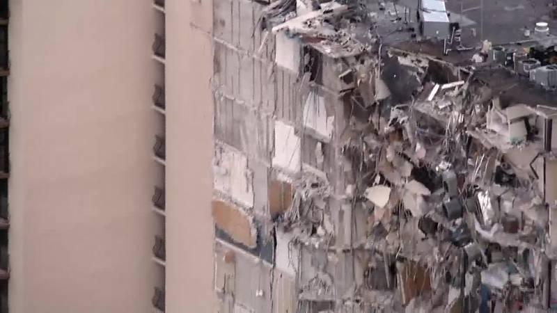 A condominium in Surfside, Fla., collapsed. Rescue efforts are underway.