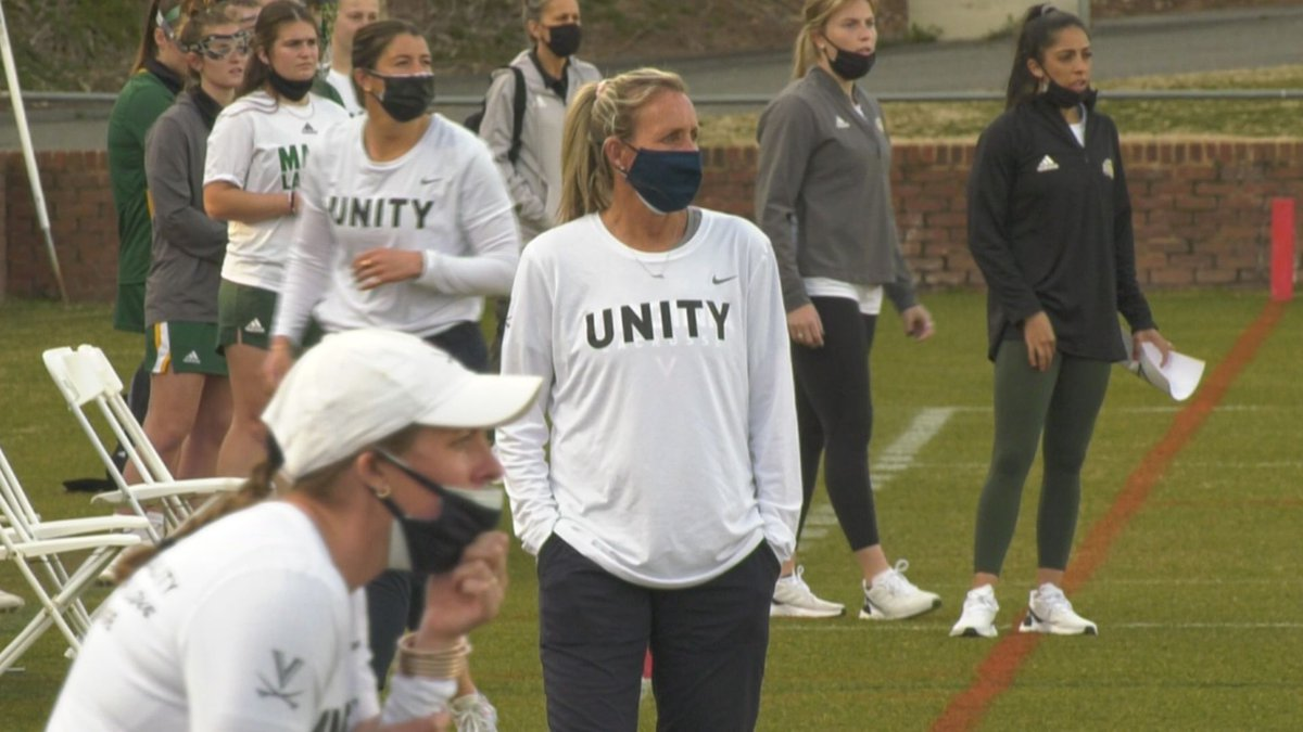 UVA head coach Julie Myers