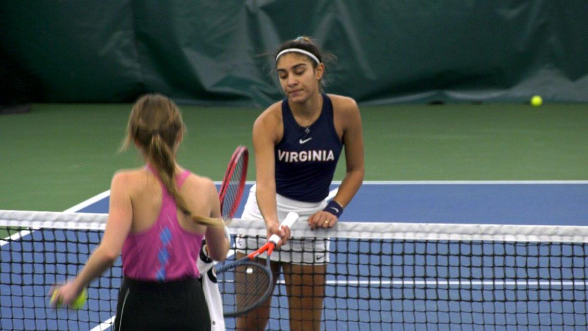 The No. 14 UVA women's tennis team lost 5-2 against No. 1 UNC