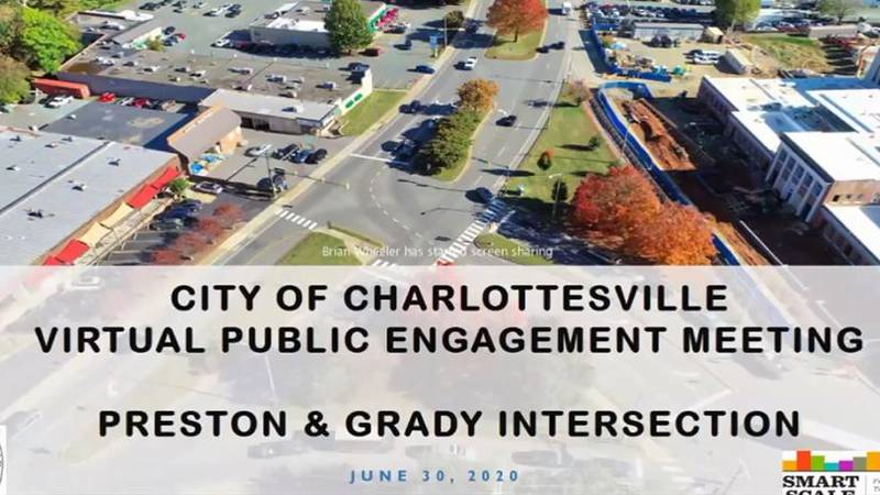 Dozens took part in a virtual meeting Tuesday to discuss future plans for the Preston & Grady...