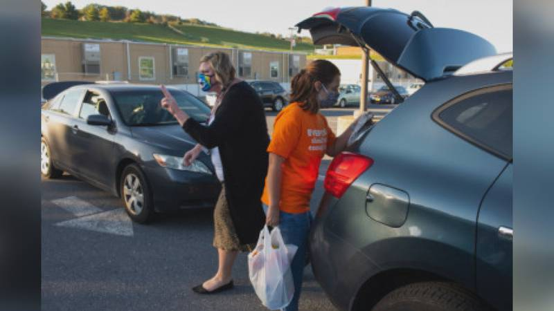 The Blue Ridge Area Food Bank brought in about 637,000 meals earlier this month. (BRAFB)