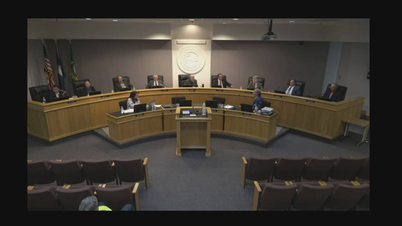 The Augusta County board of supervisors on Wednesday, June 23.