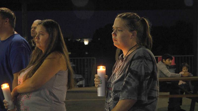 People gathered in Verona to remember 3-year-old Khaleesi Cuthriell who is believed to be dead.