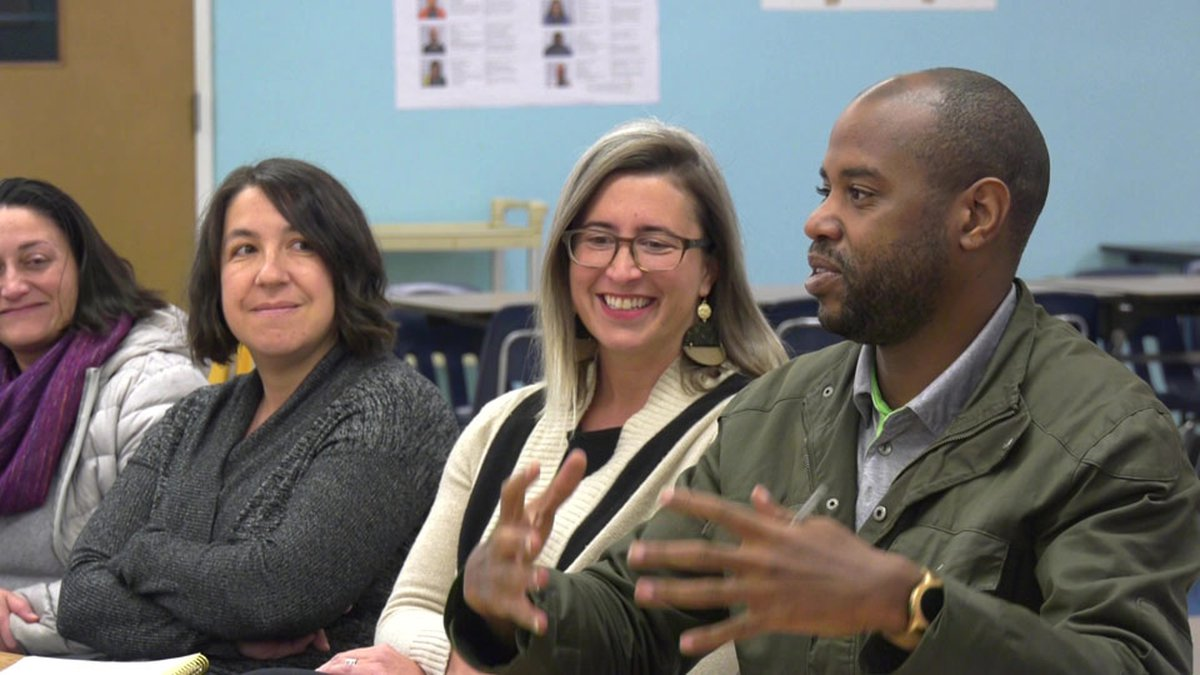 A discussion being held to bring a playground to Walker Upper Elementary School.