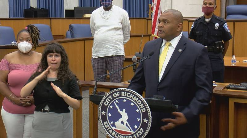 Late Saturday afternoon, Richmond Mayor Levar Stoney officially introduced Gerald Smith as the...