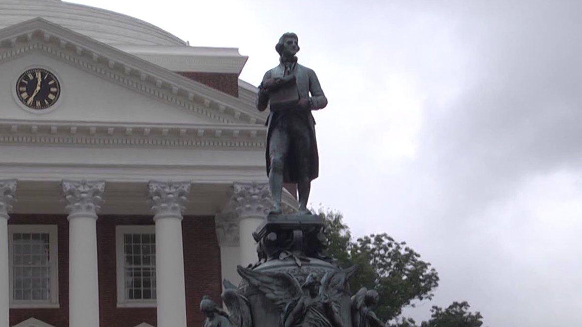 The University of Virginia Rotunda (FILE)
