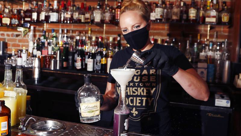 During the pandemic, the Commonwealth allowed businesses to sell alcoholic beverages to help...