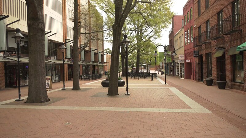Charlottesville's Downtown Mall