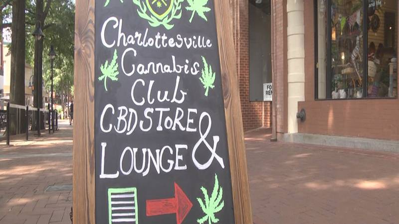 The Charlottesville Cannabis Club on the Downtown Mall.