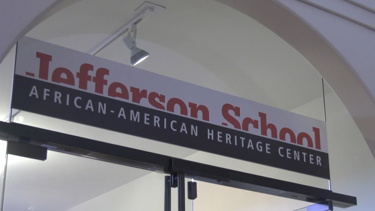 The Jefferson School African-American Heritage Center in Charlottesville.