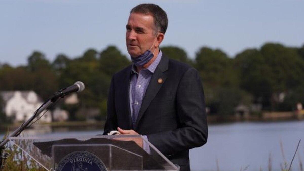 Gov. Ralph Northam announces Virginia's Coastal Resilience Master Planning Framework in Norfolk...