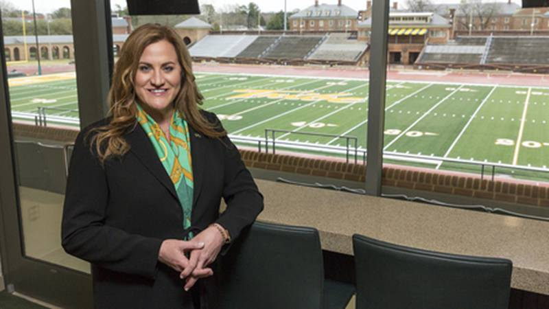 Director of athletics Samantha Huge and William & Mary mutually agreed to part ways on October...