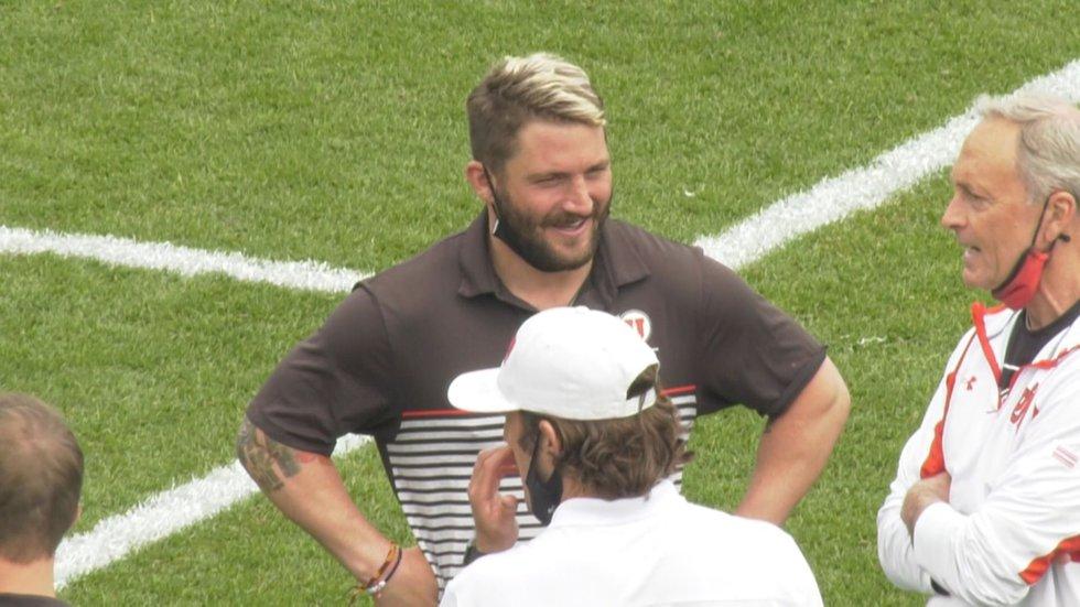 Former UVA goalie Adam Ghitelman is an assistant coach with Utah.