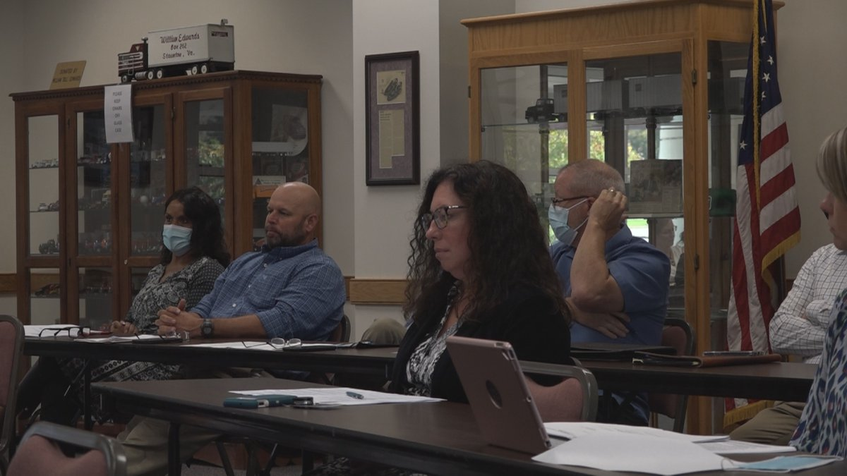 MRRJ Superintendent Jeffery Newton presents information at the authority meeting Tuesday, Oct....