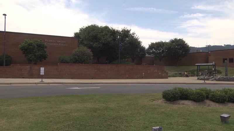 Piedmont Virginia Community College in Albemarle County (FILE)