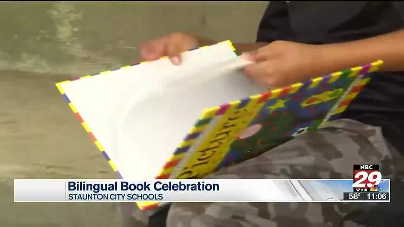 Staunton City Schools hosts the first Bilingual Book Celebracion at Bessie Weller Elementary...