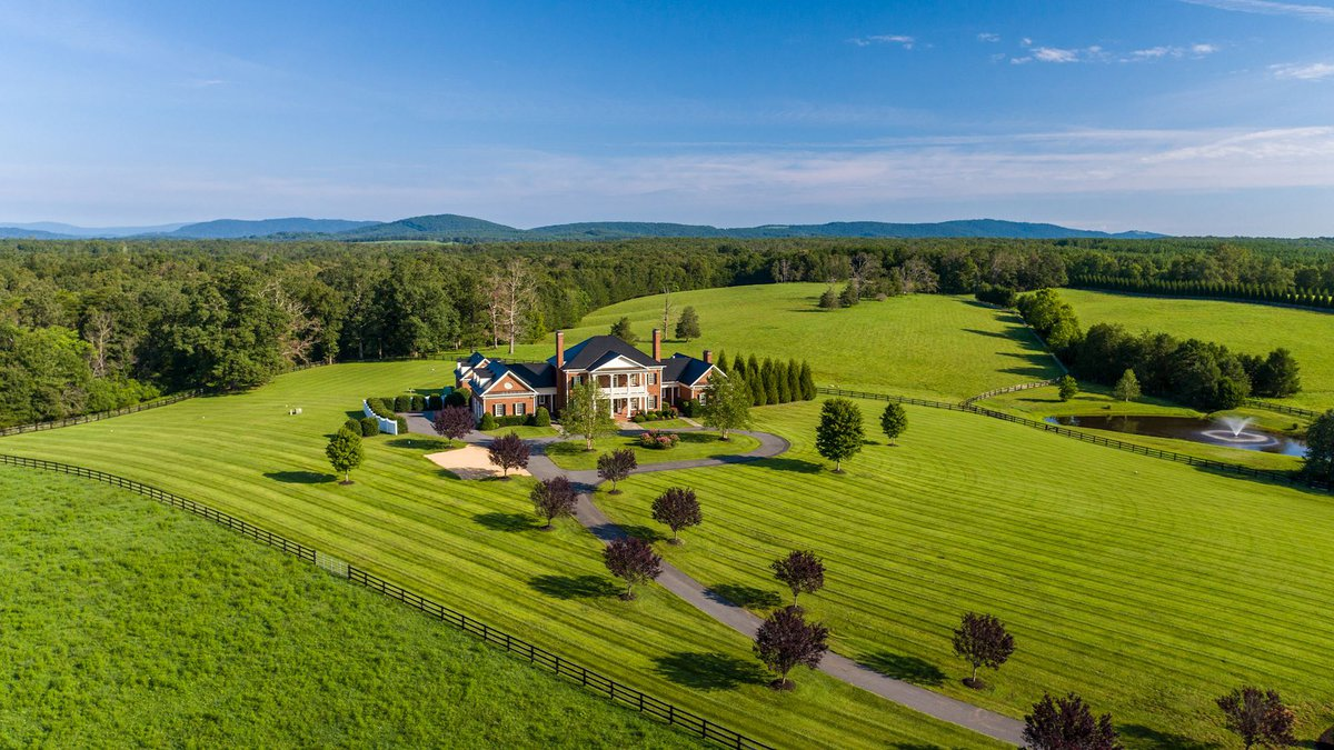 An Albemarle County property is for sale and it has a whopper of a price tag.
